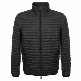 Emporio Armani Quilted Down Jacket Grey