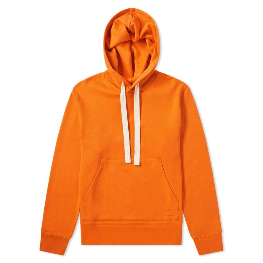 Acne Studios Fellis Hoody Mandarin Orange