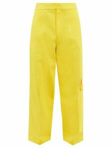 Balenciaga - Logo Embroidered Wool Fleece Jacket - Mens - Black