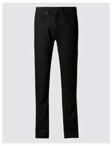 M&S Collection Slim Fit Stretch Travel Jeans