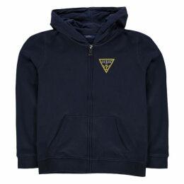 Guess Zip Up Fleece Sweater