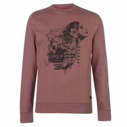 Firetrap Photo Crew Sweatshirt Mens