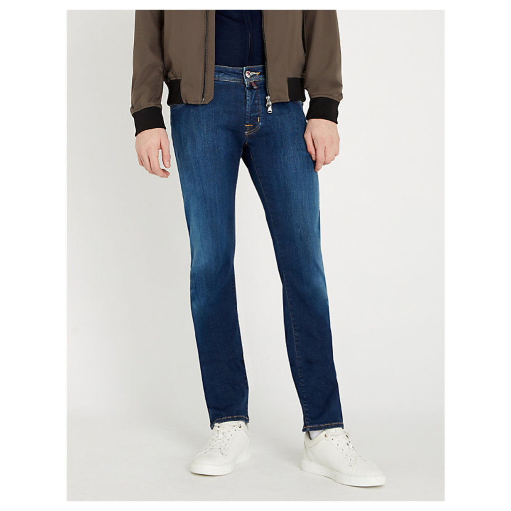 Tailored-fit tapered jeans