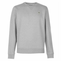 Lacoste Fleece Crew Sweatshirt