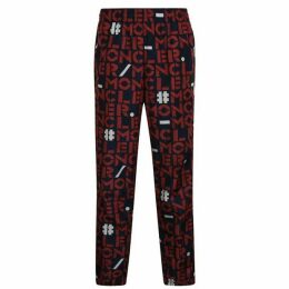 2 Moncler 1952 All Over Printed Jogging Bottoms