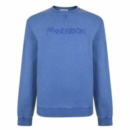 JW Anderson Embroidered Logo Sweatshirt