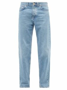 Raf Simons - Oversized Cut Out Ribbed Knit Sweater - Mens - Silver
