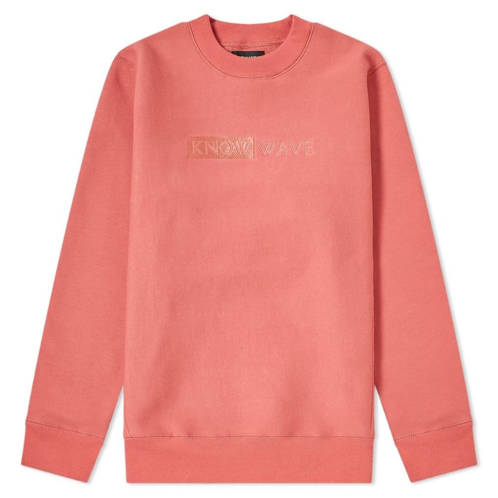Know Wave TBT Crew Sweat Dusty Pink