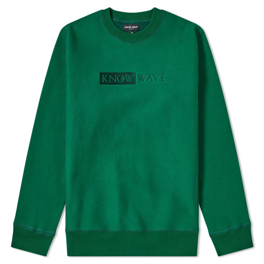 Know Wave TBT Crew Sweat Dusty Green