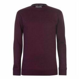 Fabric Crew Neck Sweatshirt Mens