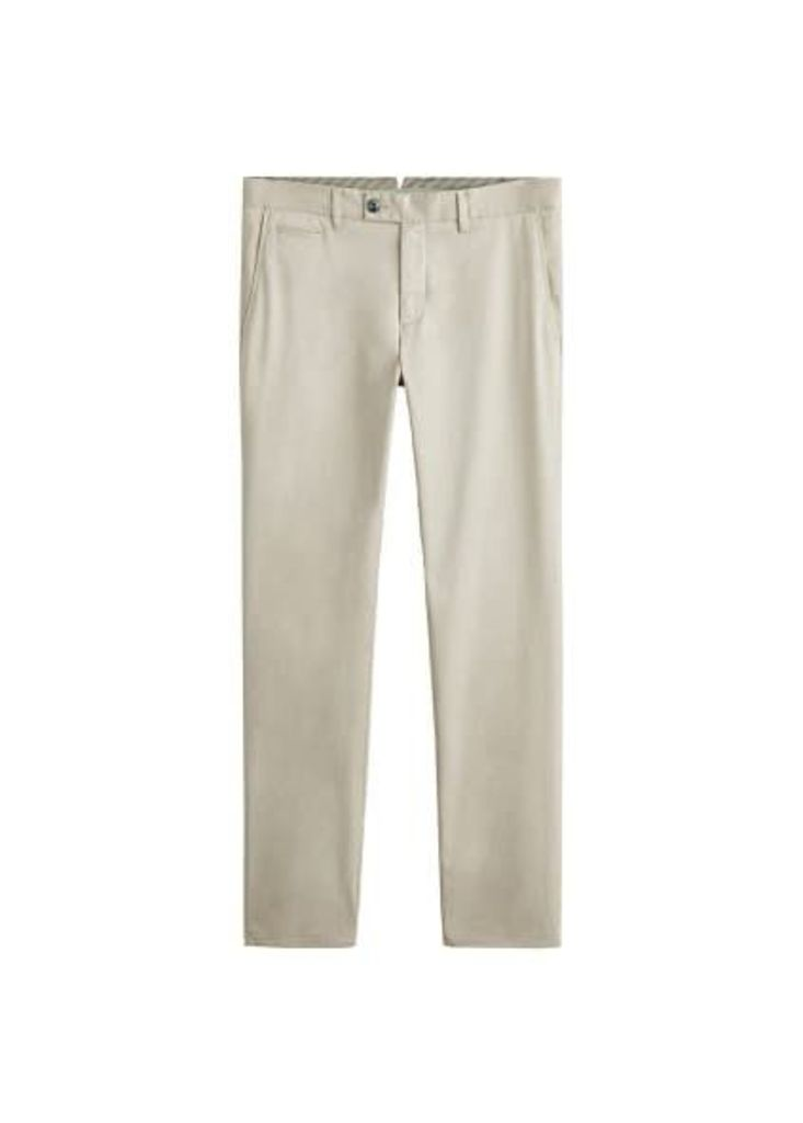 Super slim-fit chino trousers