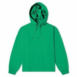 Acne Studios Fagen Stamp Hoody Emerald Green
