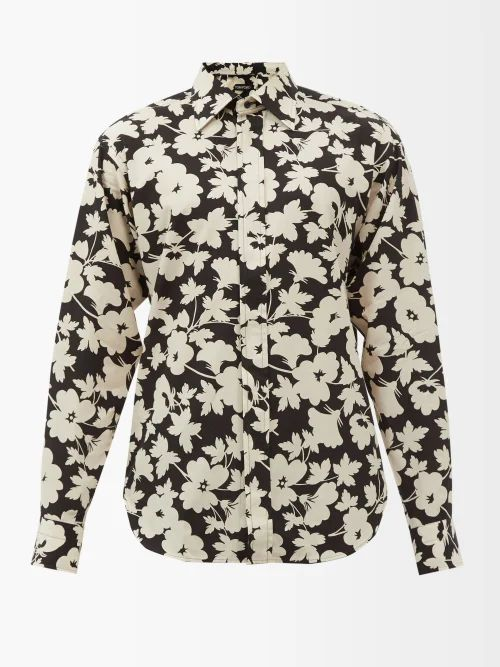 Fendi - Ff Striped Canvas Backpack - Mens - Brown Multi