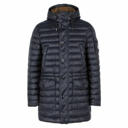 Moncler Benjamin Navy Quilted Shell Jacket