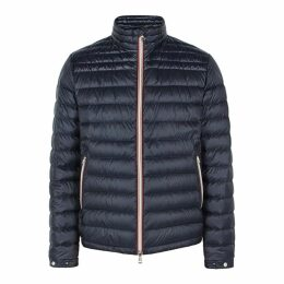 Moncler Daniel Navy Quilted Shell Jacket