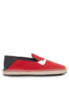Fendi Bag Bugs espadrilles - Red