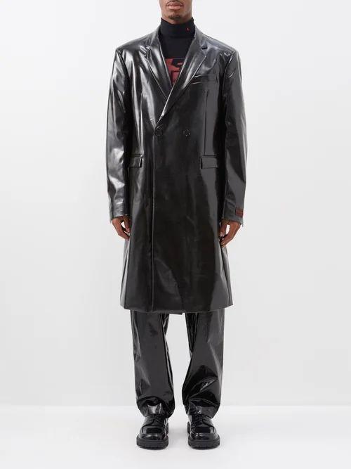 Comme Des Garçons Shirt - Tapered Cotton Trousers - Mens - Green