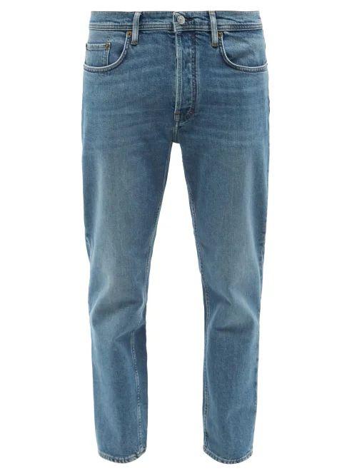 Acne Studios - Slim Leg Jeans - Mens - Blue