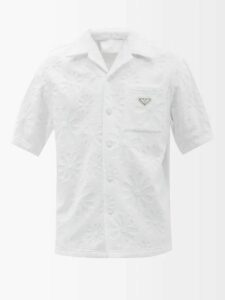 Saint Laurent - Distressed Slim Leg Jeans - Mens - Blue
