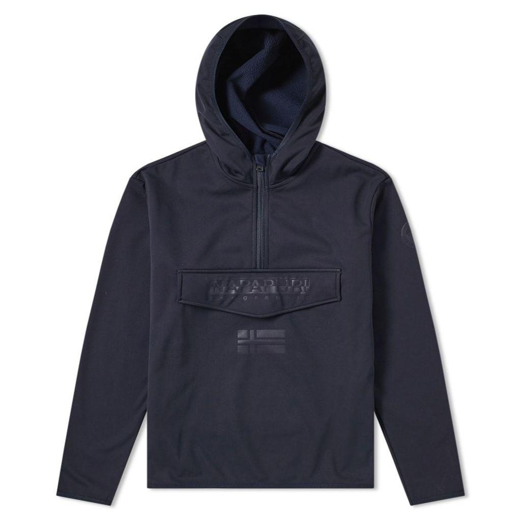 Napapijri Tadenhzh Pullover Jacket Navy