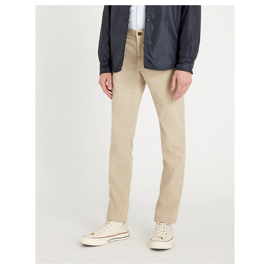 Slim-fit stretch-cotton chinos