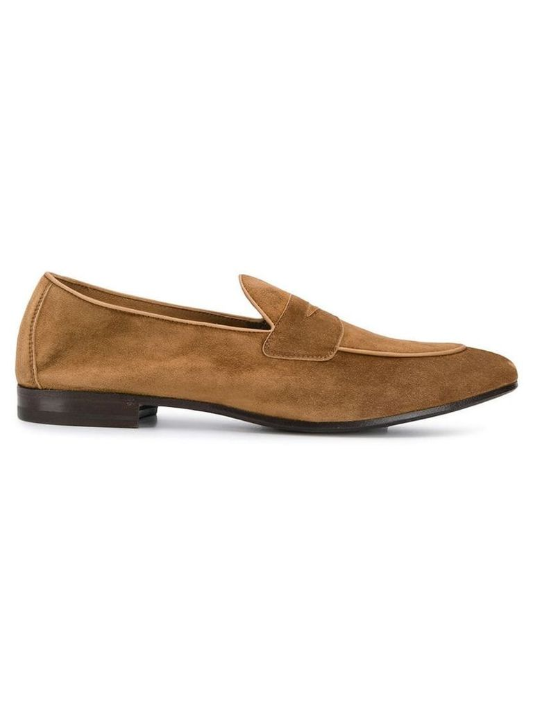 Henderson Baracco leather classic loafers - Brown