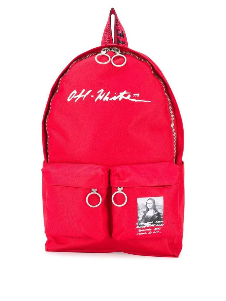 Off-White Monalisa backpack - Red