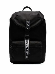 Givenchy black and white 4G packaway backpack