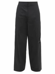 2 Moncler 1952 - Logo Appliqué Hooded Padded Jacket - Mens - Yellow