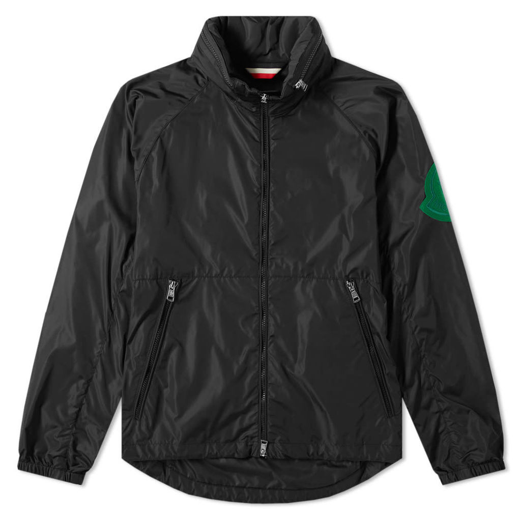 Moncler Genius - 2 Moncler 1952 - Octagon Colour Patch Zip Hooded Windbreaker Black & Green