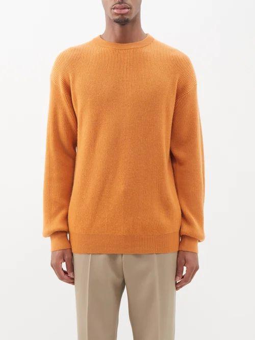 Bottega Veneta - Intrecciato Colour Block Leather Derby Shoes - Mens - Brown