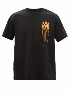 Acne Studios - Turn Up Cuff Cotton Blend Chino Trousers - Mens - Orange