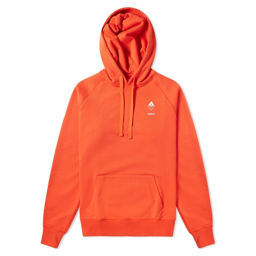 Adsum Diamond Hoody Blood Orange