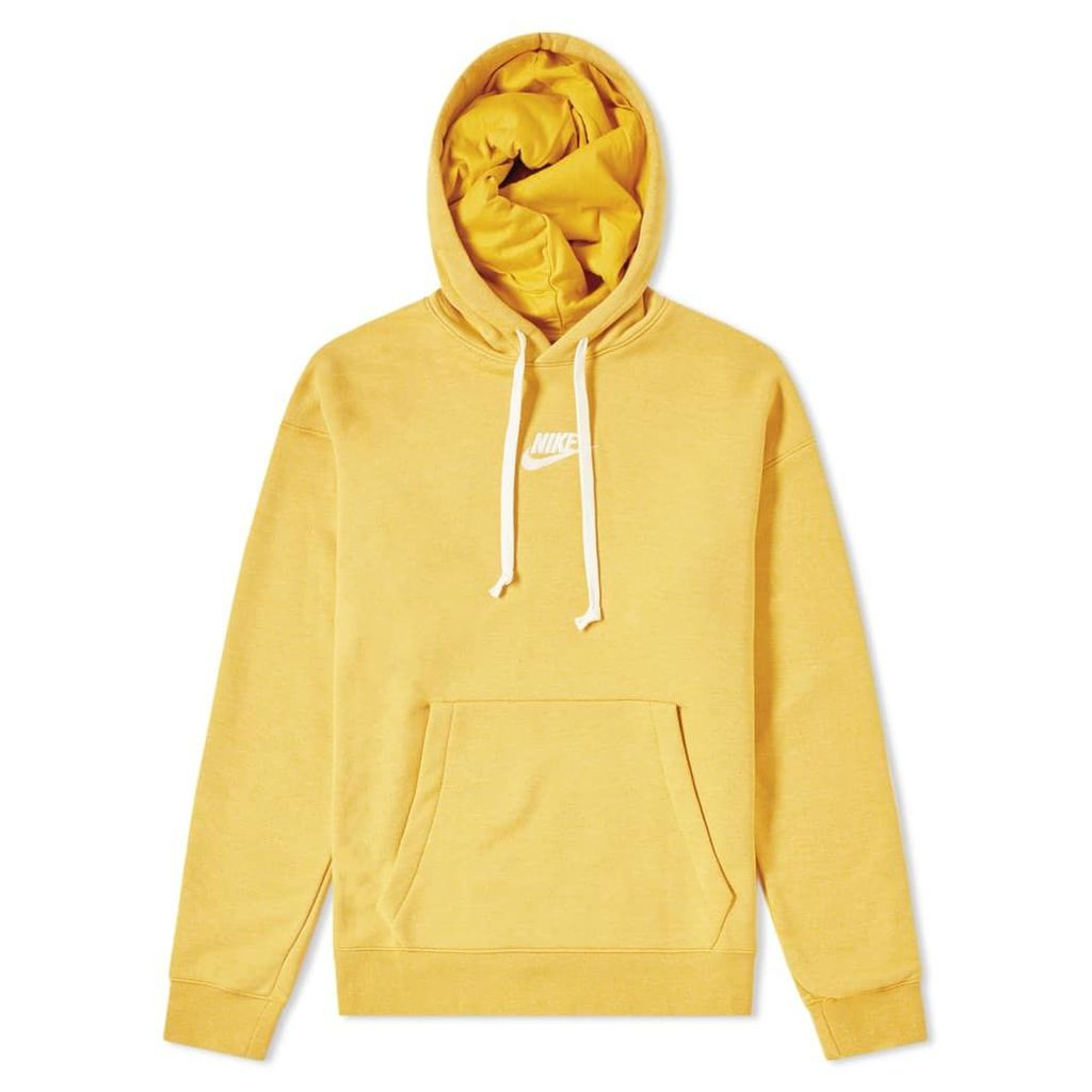 Nike Heritage Pullover Hoody Gold Dart, Heather & Sail