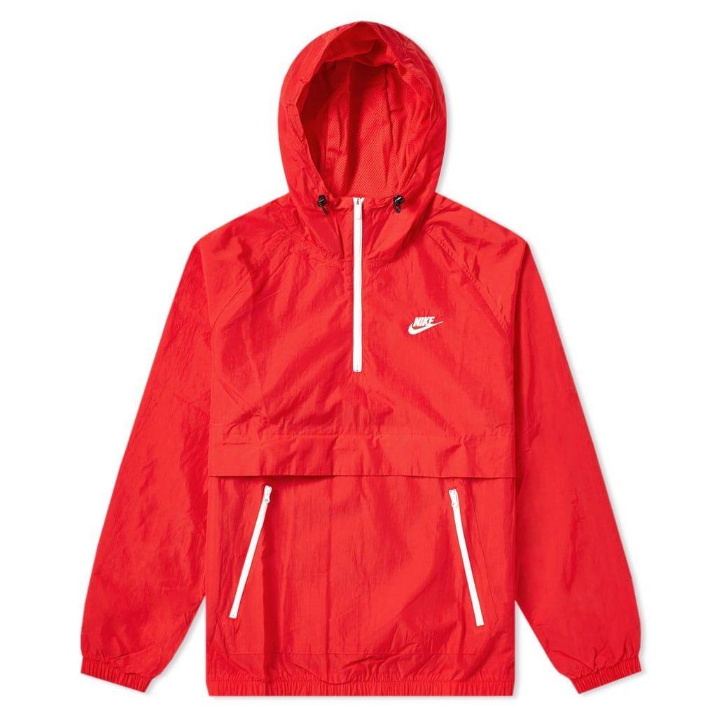 Nike Retro Woven Anorak Red, Indigo Force & White