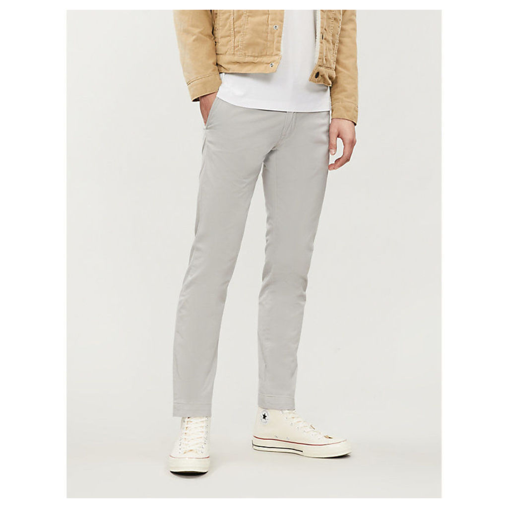 Bedford slim-fit stretch-cotton trousers