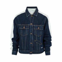 Off-White Two-tone Denim Jacket
