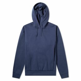 Martine Rose Embroidered Logo Popover Hoody Navy
