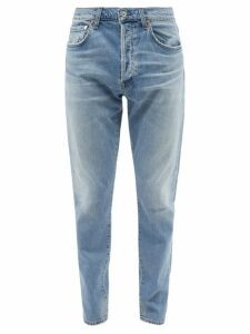 Balenciaga - Striped Cotton Hooded Sweatshirt - Mens - Black Green