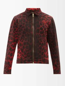 Balenciaga - Logo Print Shell Track Jacket - Mens - Grey