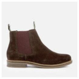 Barbour Men's Farsley Suede Chelsea Boots - Brown - UK 7 - Brown