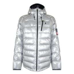 Polo Ralph Lauren Silver Collection Glacier Heated Down Jacket