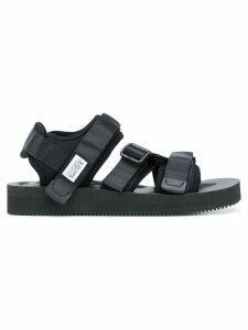 Suicoke hook & loop strappy sandals - Black