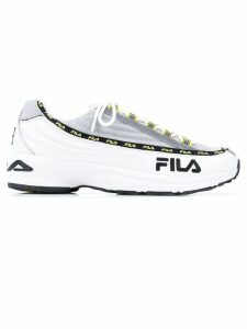 Fila logo lace-up sneakers - White