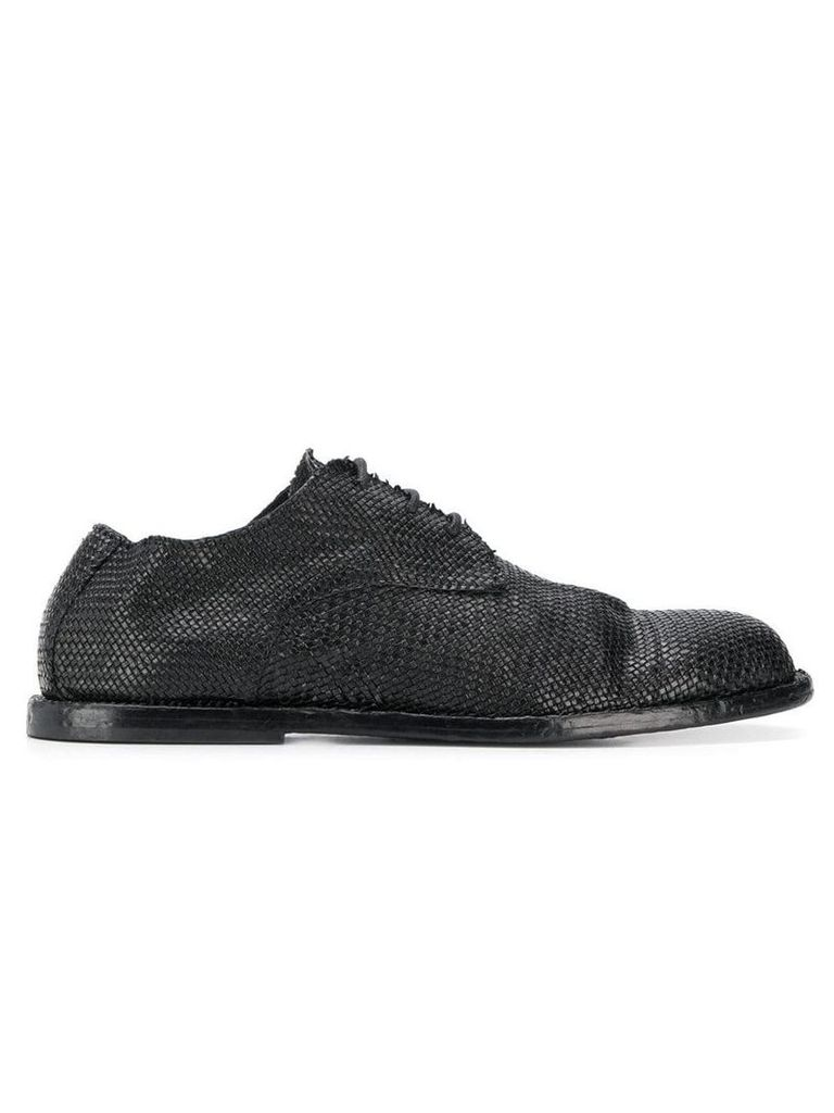 Ann Demeulemeester flat lace-up shoes - 099