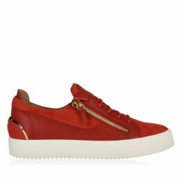Giuseppe Zanotti Low Top Suede Trainers