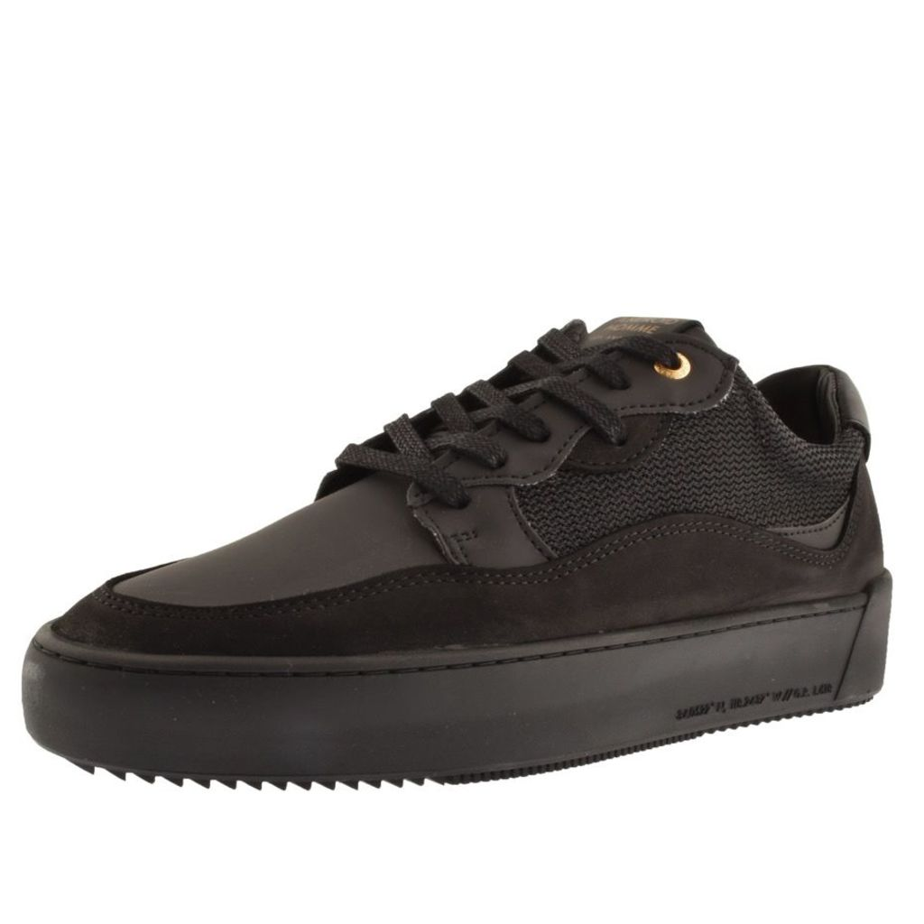 Android Homme Omega Low Trainers Black