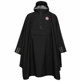 Canada Goose Field Black Shell Poncho