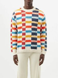 Valentino - Camouflage Print Side Stripe Track Pants - Mens - Green
