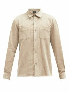 Polo Ralph Lauren - Hooded Logo Embroidered Cotton Sweatshirt - Mens - Grey